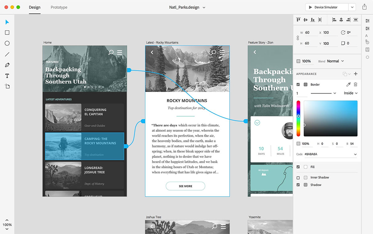 Adobe User Experience Design